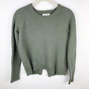 Madewell Province Criss Cross Sweater Knit